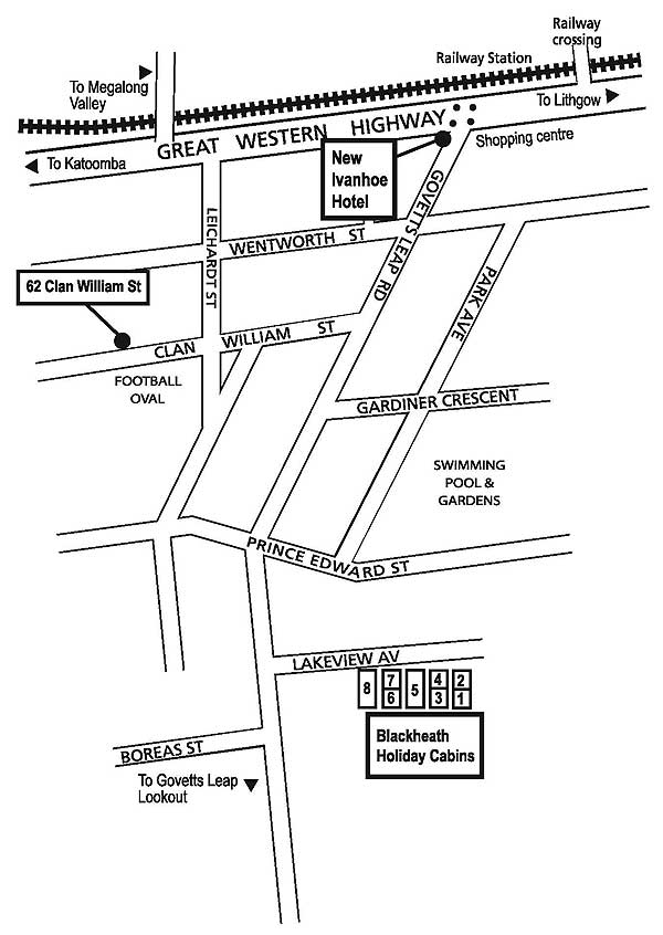 Blackheath Map